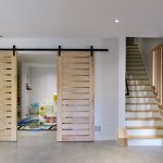 stairs and playroom