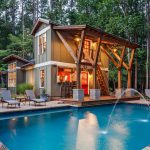 pool and home addition