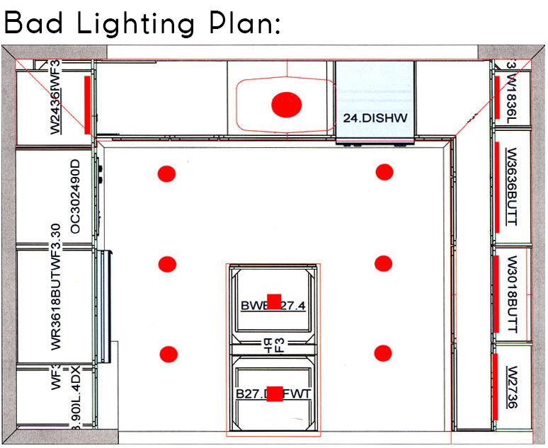 Kitchen Lighting Design Mosaic Design Build