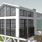 covered porch rendering